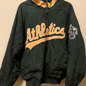 Fleece Lined Oakland Athletics Jacket